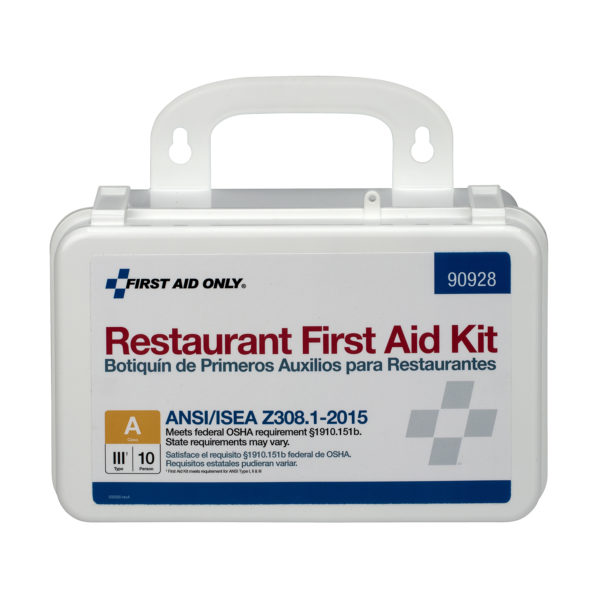 FA90928 ANSI OSHA Restaurant First Aid Kit