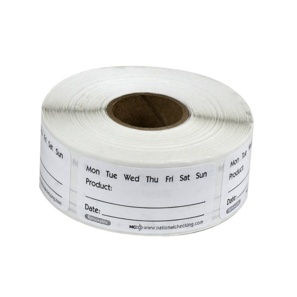 "RP12R 1"" X 2"" Product Removable Labels"